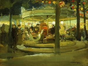 Carousel, C.1900-1901 by Richard Edward Miller