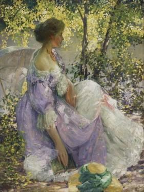 In the Garden by Richard Edward Miller