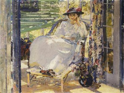 In the Sunroom by Richard Edward Miller