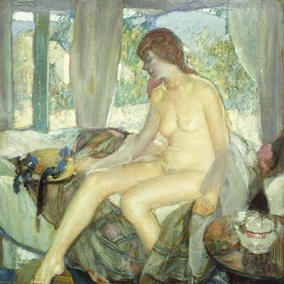 Morning Contemplation by Richard Edward Miller