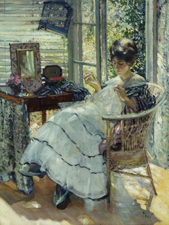 Sewing by Richard Edward Miller