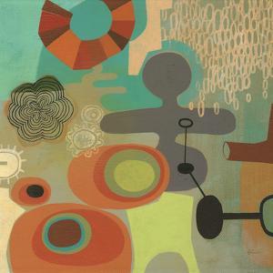 Mid Century Mood 1 by Richard Faust