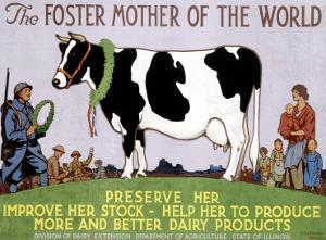Foster Mother of the World by Richard Fayerweather Babcock