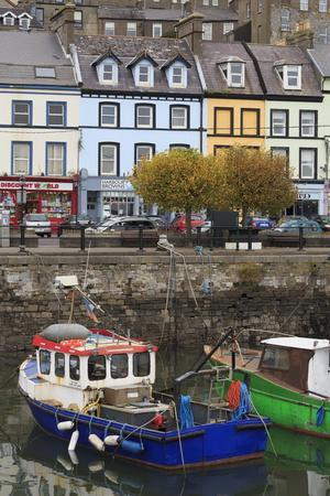 Fishing Boats, Cobh Town, County Cork, Munster, Republic of Ireland,Europe