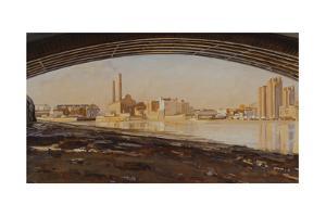 Battersea Bridge, 1988-90 by Richard Foster