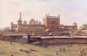 Jama Masjid, Delhi by Richard Foster