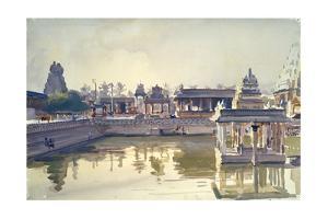 Kanchipuram Temple, Dawn by Richard Foster