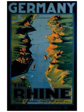 Germany, The Rhine by Richard Friese