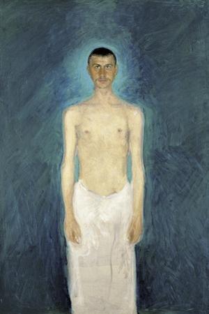 Semi-Nude Self-Portrait, 1904-1905