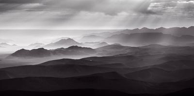 Namib Desert by air by Richard Guijt