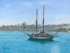 Hera Ii Valletta Malta by Richard Harpum