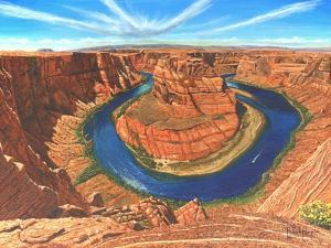 Horseshoe Bend Colorado River Arizona by Richard Harpum