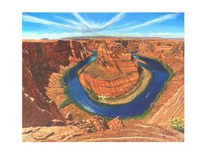 Horseshoe Bend Colorado River Arizona by Richard Harpum