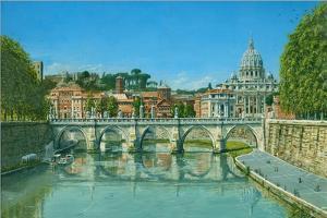 Il Fiume Tevere Roma by Richard Harpum