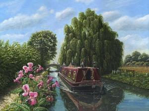 Mary Jane Chesterfield Canal Notts by Richard Harpum
