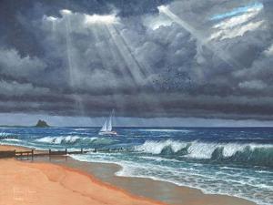 Raw - Storm over Lindisfarne by Richard Harpum