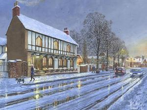 Winter Glow Parish Room Tickhill Yorkshire by Richard Harpum