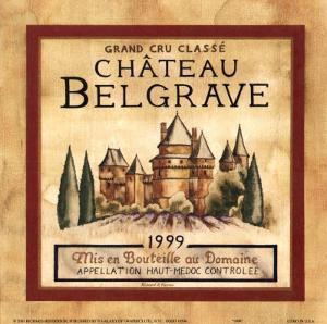 Chateau Belgrave, 1999 by Richard Henson