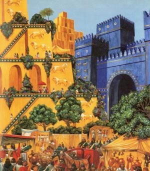 Hanging Gardens of Babylon by Richard Hook