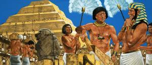 Imhotep, the Astronomer and Architect, with the Pharaoh Zoser by Richard Hook