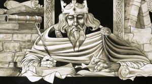 King Alfred Was a Keen Scholar by Richard Hook