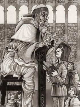 Monk's School by Richard Hook