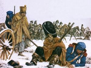 Napoleon's Retreat from Moscow by Richard Hook