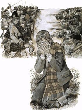 The Battle of Culloden, 1972 by Richard Hook