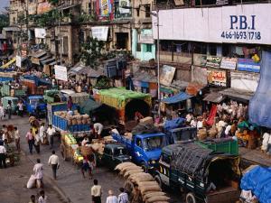 Afternoon at Burra Bazaar, Kolkata, India by Richard I'Anson