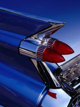 Detail of An American Cadillac, Eze, France by Richard I'Anson