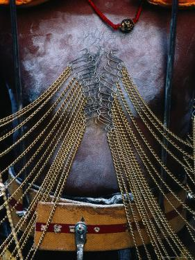 Detail of Pierced Body of Hindu Devotee at Thaipusam Festival, Singapore by Richard I'Anson