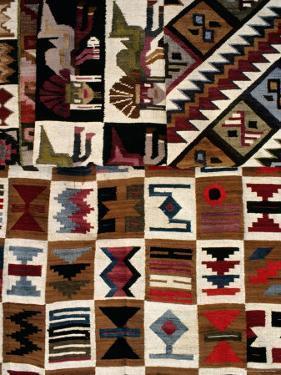 Detail of Weaving, La Paz, Bolivia by Richard I'Anson