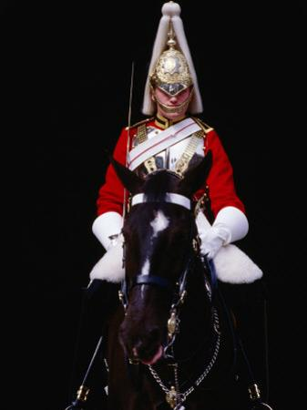 Member of Horse Guards Riding Horse, London, England