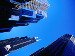 Sears Tower and Other Buildings, Chicago, USA by Richard I'Anson