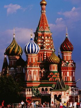 St Basil'S Cathedral on Red Square by Richard I'Anson