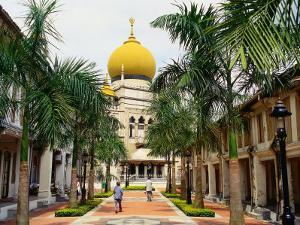Sultan Mosque, Country's Largest Mosque, Built in 1825, Singapore by Richard I'Anson