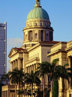 Supreme Court Building, Former Symbol of British Law in Colonial Era, Singapore by Richard I'Anson