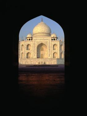 Taj Mahal Through Archway, Agra, Uttar Pradesh, India by Richard I'Anson