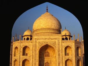 The Taj Mahal Framed by an Arch, Agra, Uttar Pradesh, India by Richard I'Anson