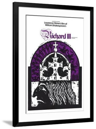Richard III--Framed Poster