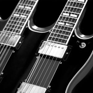 Classic Guitar Detail I by Richard James