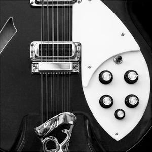 Classic Guitar Detail IV by Richard James