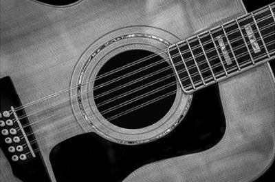 Classic Guitar Detail IX by Richard James