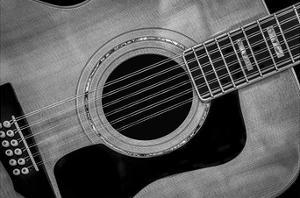 Classic Guitar Detail IX by Richard James