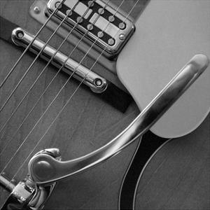 Classic Guitar Detail VII by Richard James