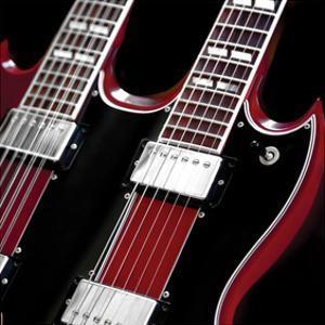 Doubleneck Guitar by Richard James
