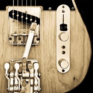 Hipshot Guitar by Richard James