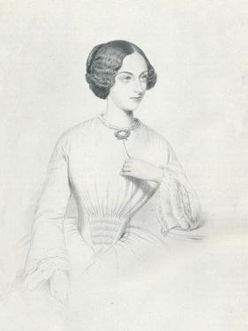 Johanna Wagner, 1852 by Richard James Lane