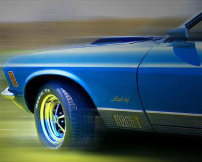 Mustang Mach One by Richard James