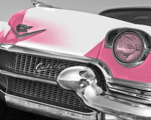 Pink Cadillac by Richard James